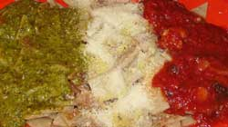 testaroli tricolore